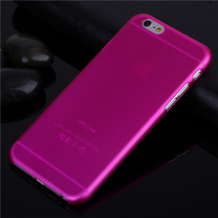 4.7 inch For iphone 6 6g case 2014 New Arrival Fashion Ultra Thin Slim Transparent Design PP Cover 1 Piece Free Shipping(China (Mainland))