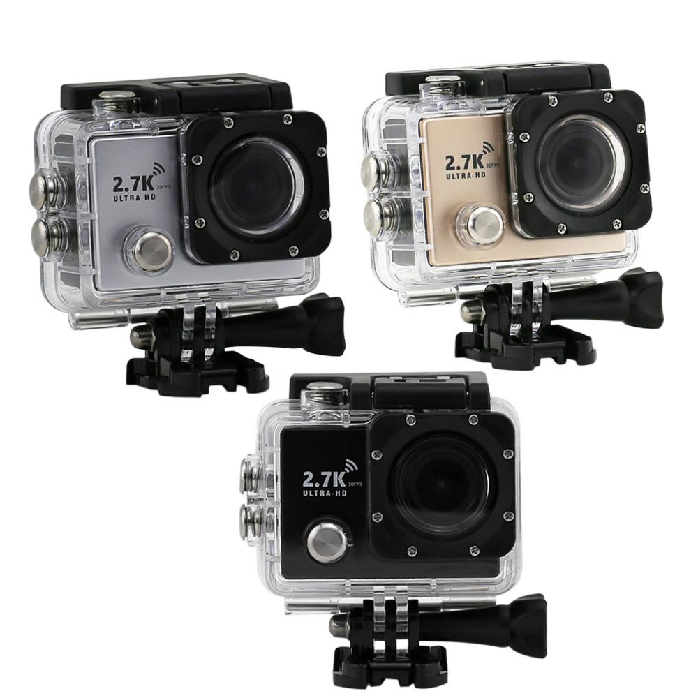 Здесь можно купить  New 2.7K HD WiFi Sport DV Camera 2 inch 14MP 1080P 170 Wide Lens Waterproof Wholesale  Бытовая электроника