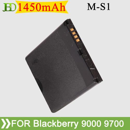 100Pcs/Lot M-S1 MS1 1450mAh Mobile Phone Battery For Blackberry 9000 9030 Bold 9220 9630 9700 9780 Batterie Batterij Batteria(China (Mainland))