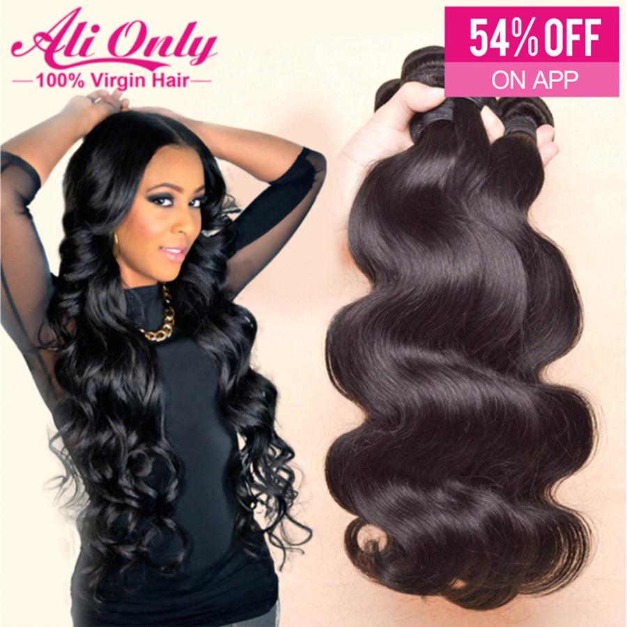 Brazilian Virgin Hair Body Wave 3Pcs/4Pcs Lot,Can Be Dyed Brazilian Body Wave Brazilian Hair,Mixed 8-30Inch Human Hair Extension<br><br>Aliexpress