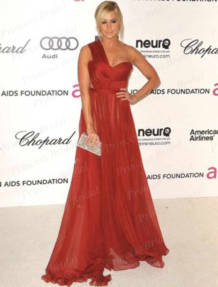 Ashley tisdale red carpet dresses - photo#6