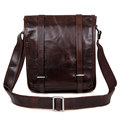 Vintage first layer cow leather men s messenger bag shoulder bags casual 100 genuine leather crossbody