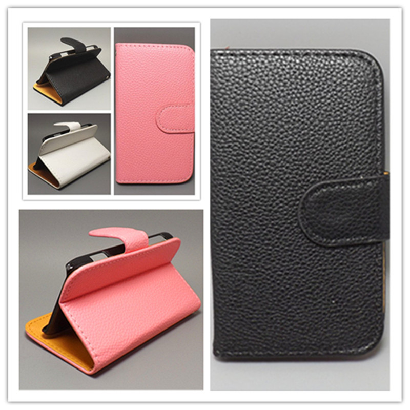 Luxury Litchi leather case cover stand functionFor Alcatel One Touch Pop C7 7041 7041D OT7041, - akk store