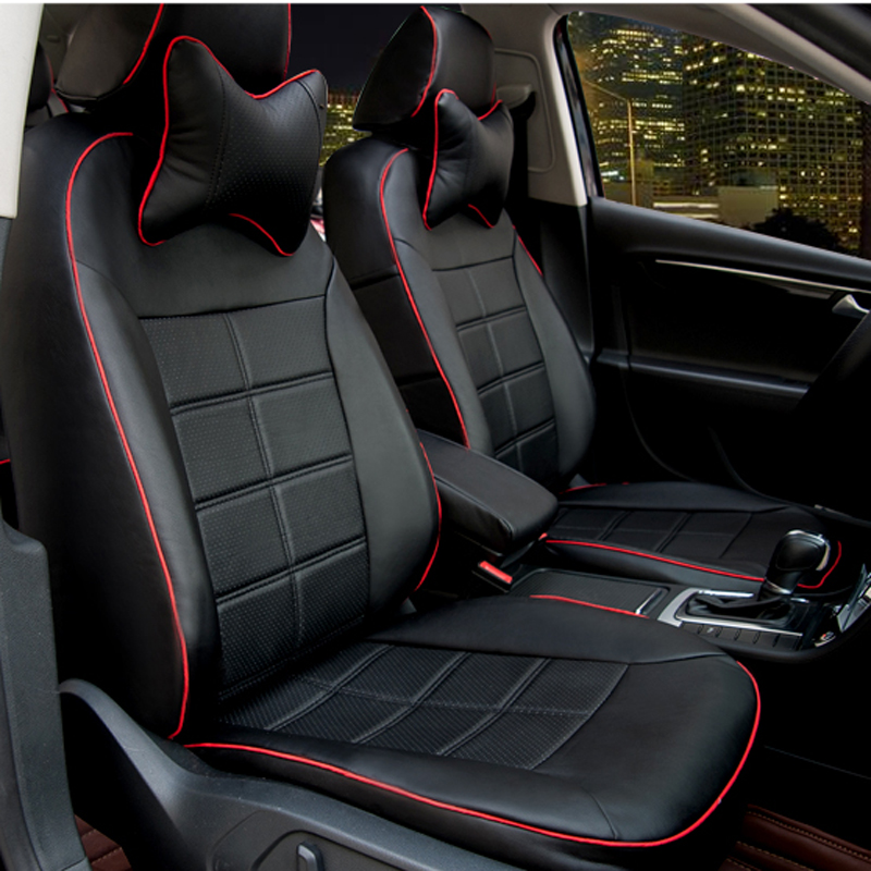 Leather car seat covers for Benz CLA series seats cover Custom auto interior accessories car styling christmas gift chair covers(China (Mainland))