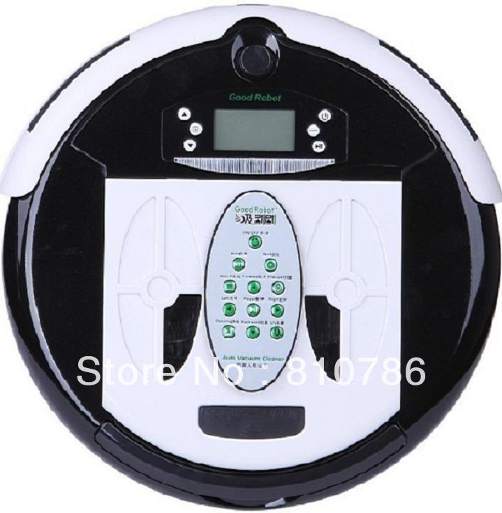 4 In 1 Multifunctional Wet&Dry Robot Vacuum Cleaner+ 1L Rubblish Box+UV lights+Auto Recharged(China (Mainland))
