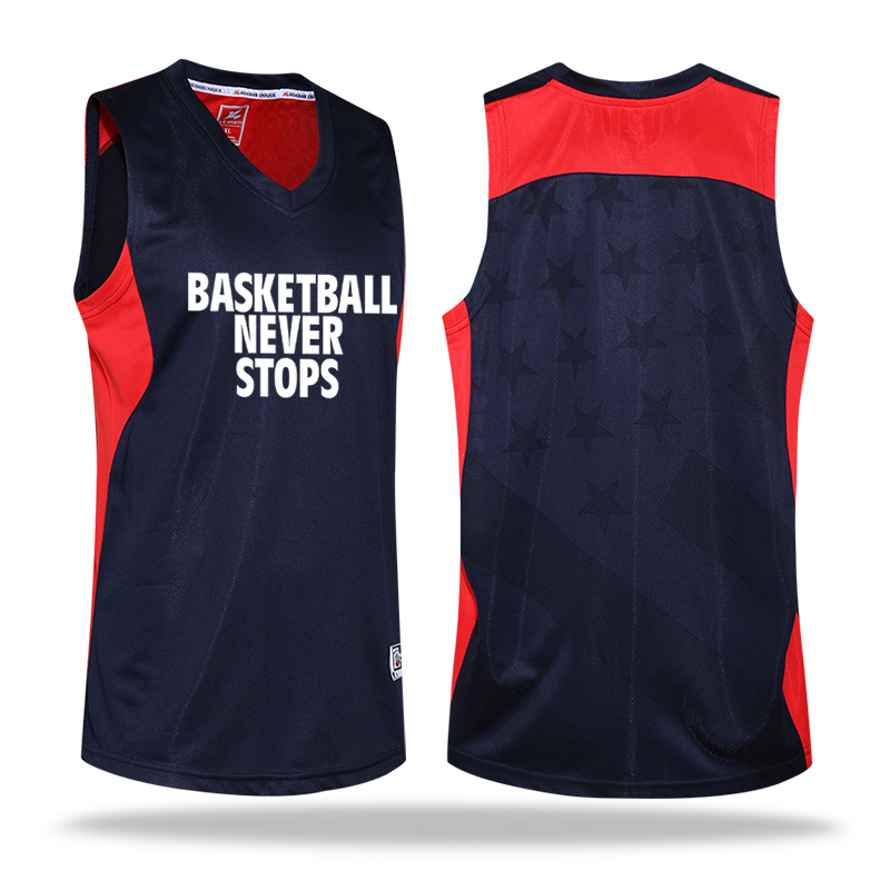 Men's Clothing Suits Sweat-absorbent Breathable Basketball Jersey and Shorts Set Custom Logo Number(China (Mainland))