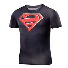 Buy Batman VS Superman T Shirt Tee 3D Printed T-shirts Men Short sleeve Fitness Cosplay Costume compression Slim Fit Tops Male for $6.29 in AliExpress store
