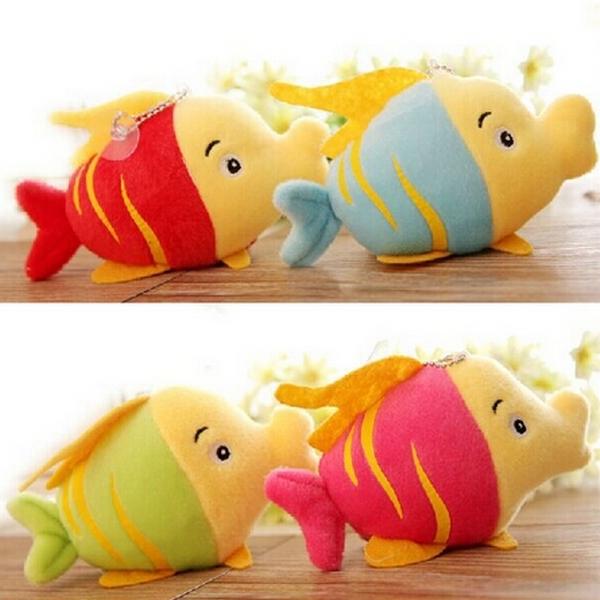 High Quality 15cm Cute Plush Fish Toys Stuffed Animals Plush Soft Kids Toys Dolls 1pcs/lot(China (Mainland))