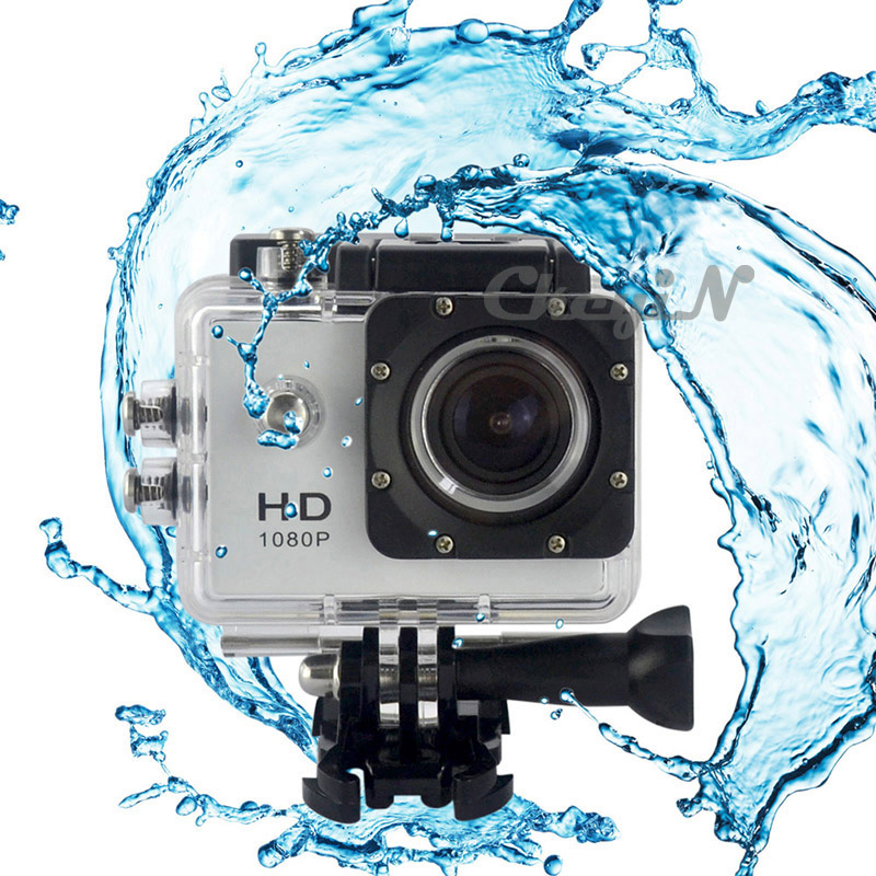 New HD Outdoor Extreme Sports Camera Digital Action Camera 1080P 170D Lens Underwater Camera 30M Waterproof Under Water Cam 0323