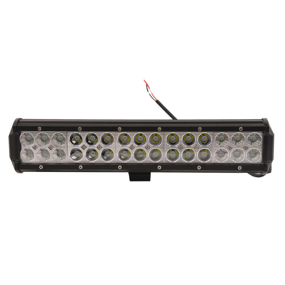 Aaiwa 14 inch 90W LED Light Bar Working Driving Boat Car Truck Spot Combo SUV ATV OffRoad Fog Lamp Wide Floodlight Beam - Electronic Technology Co.,Ltd store