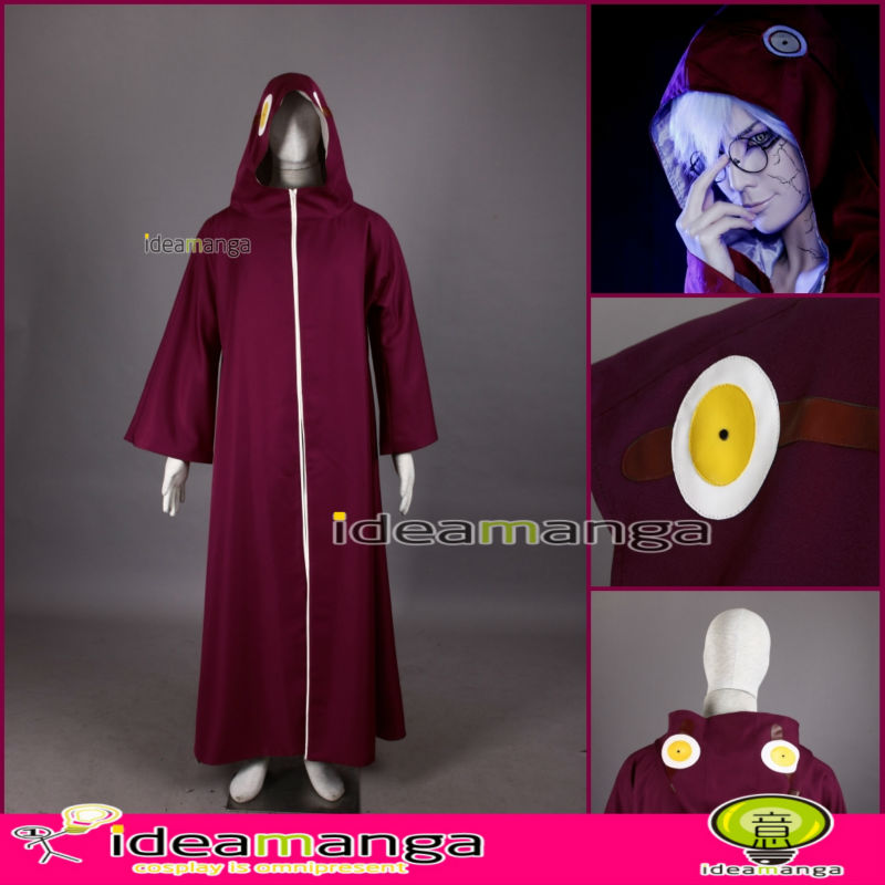 ideamanga Anime Cosplay NARUTO Naruto Akatsuki Member Yakusi Kabuto Cosplay BOYs Costume man cos male halloween Christmas PartyОдежда и ак�е��уары<br><br><br>Aliexpress