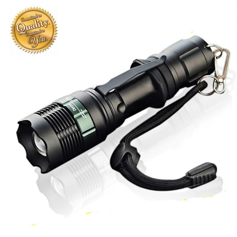 2015 hot zoomable led flashlight 18650 lantern tactical lanterna strong lumens torches linternas led lamp penlight(China (Mainland))