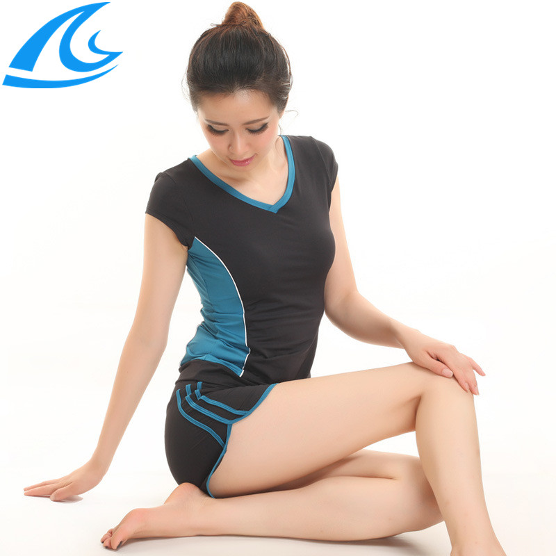 Summer 2014 Women Leggings Top Set Dance Running Gym Workout Wear Clothes Fitness Clothing Female Training Suit Sports Yoga - He & She Trade Co., Ltd. store