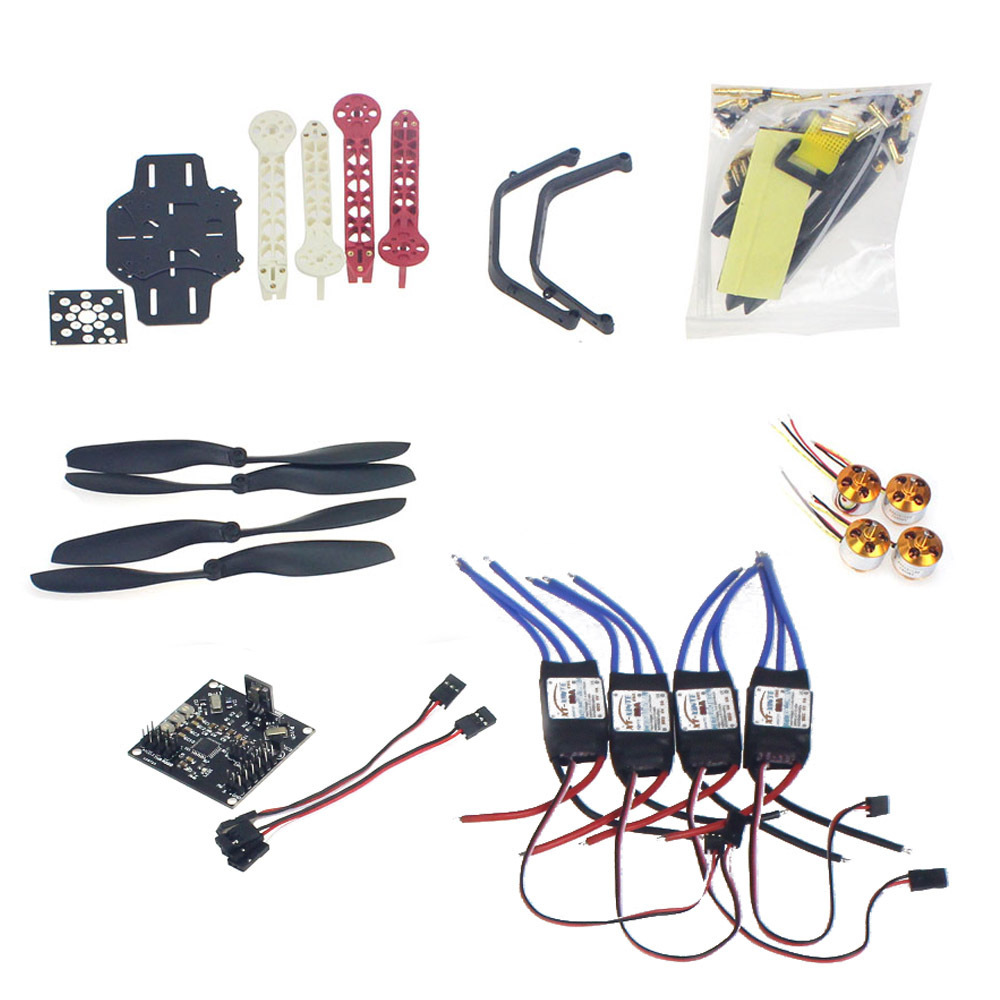 RC Drone Quadrocopter 4-axis Aircraft Kit F330 MultiCopter Frame KK XCOPTER V2.9 Flight Control No TransmitterNo BatterF02471-K(China (Mainland))