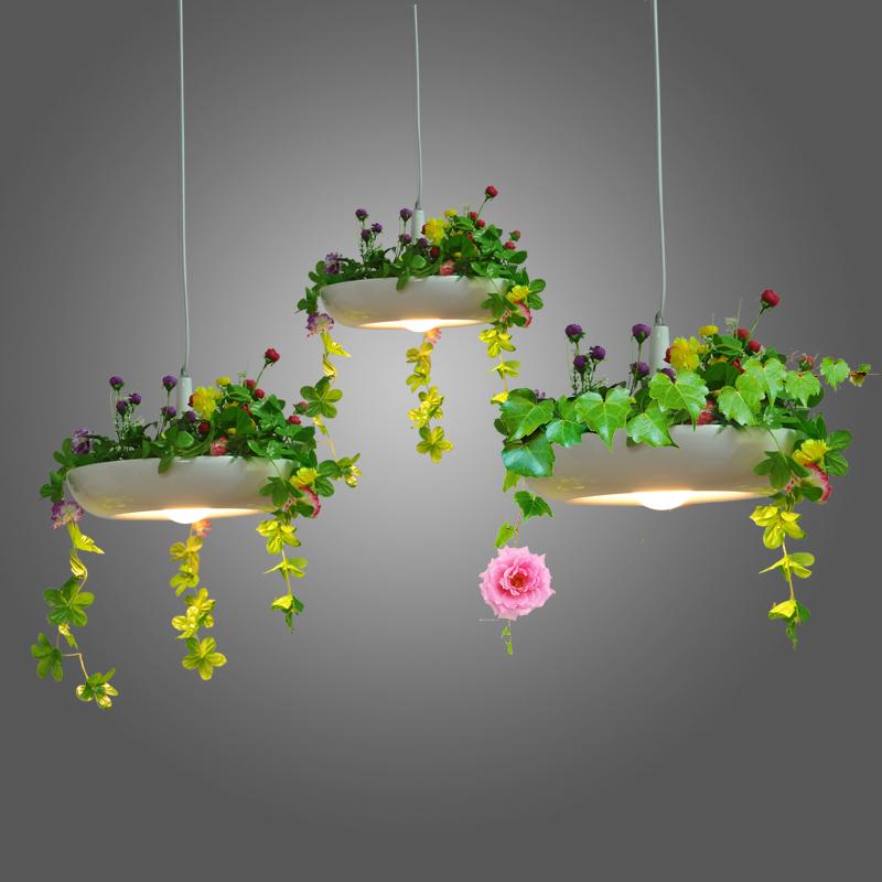 Nordic Country Pendant Lamp Wind Pot Disk Babylon Plant Pendant Lights Pots Hanging Lamp(China (Mainland))