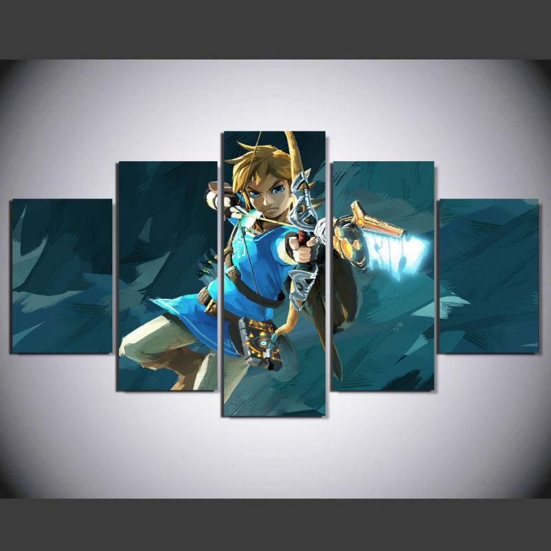 Zelda Wall Decoration : Modern art cartoon promotion for promotional