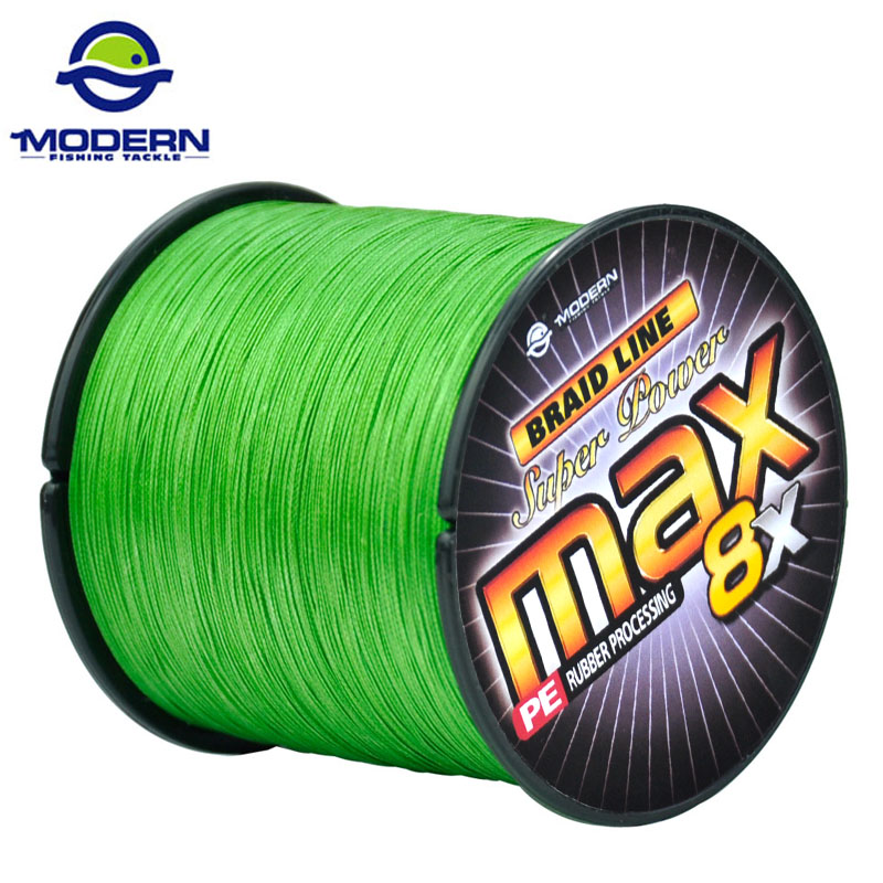 500M 8X MODERN FISHING Brand Super Strong Japan Multifilament PE braided fishing line 8 Strands <br><br>Aliexpress
