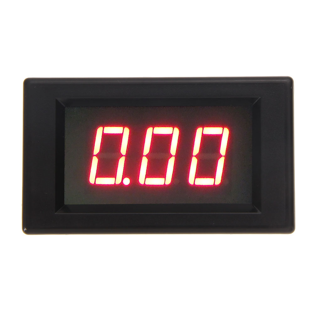 Red Backlight LCD AC 80-300V Volt Voltage Amp Panel Meter Voltmeter Ammeter 50A Electrical Voltage Meters Free Shipping(China (Mainland))