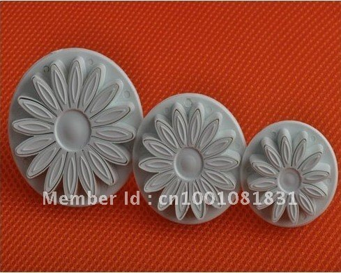 Sugarcraft Cake Decorating Cutter Tool Plunger Daisy  making