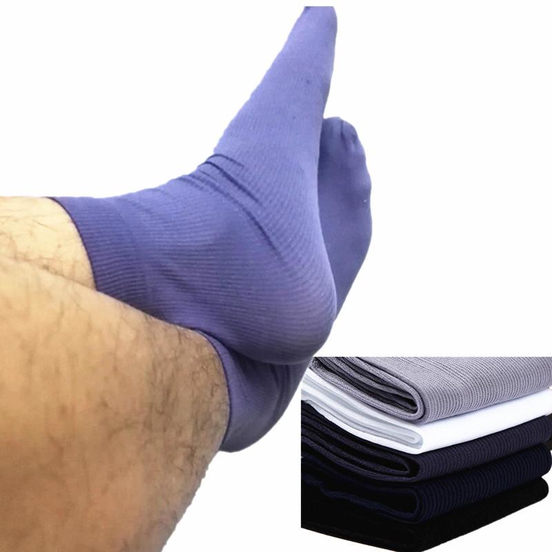 20pairs/lot men Summer Sexy ultrathin transparent spring Silk Socks for man Elastic men's business Short soft wholesale Socks(China (Mainland))