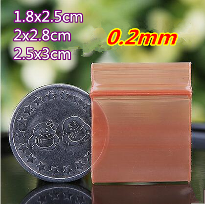 40coffee color small size Self Sealing Zip Lock Bags/ jewelry bags/ Plastic Packaging bags - Ava Liang's Packing Store store