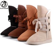2016 Nueva Nieve Del Invierno de Arranque Zapatos de Las Mujeres Artificiales de Piel Hebilla Botas de Moto Caliente Zapatos Mujer de Los Planos de Tamaño Plus 36-40 XDX05(China (Mainland))