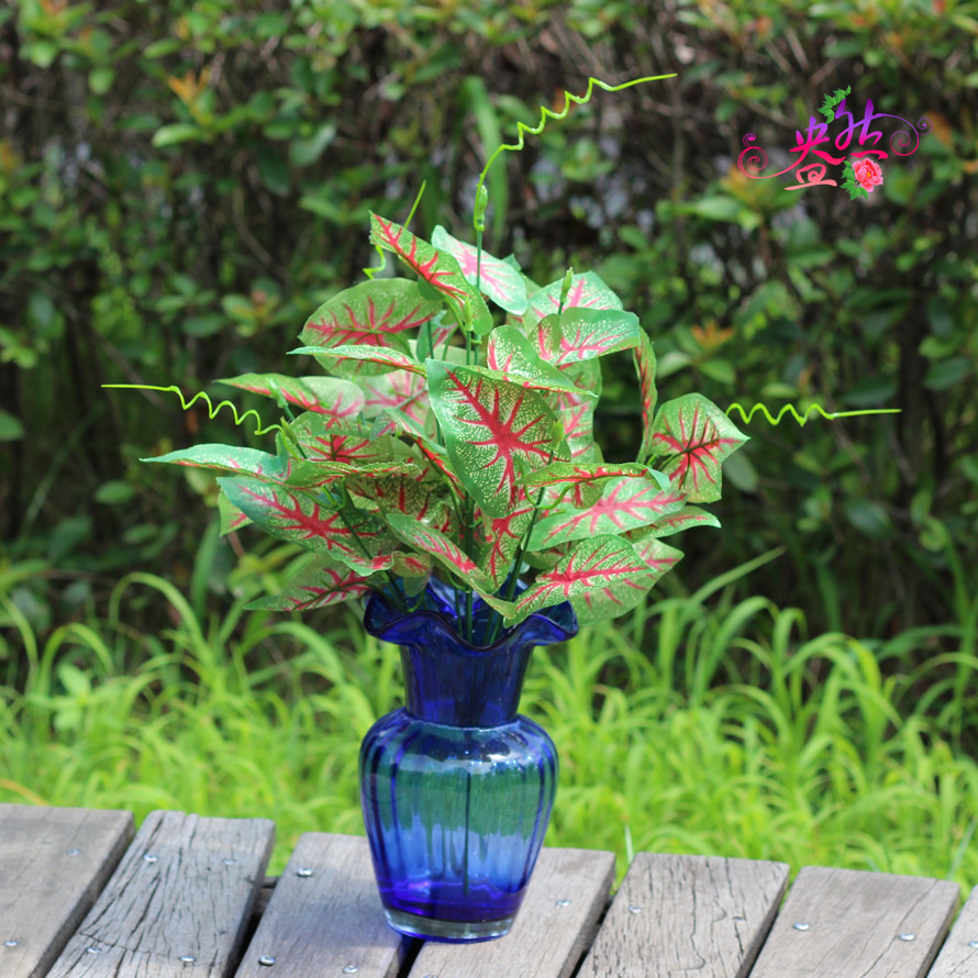 New arrival artificial flowers home decoration green for Artificial flowers decoration home