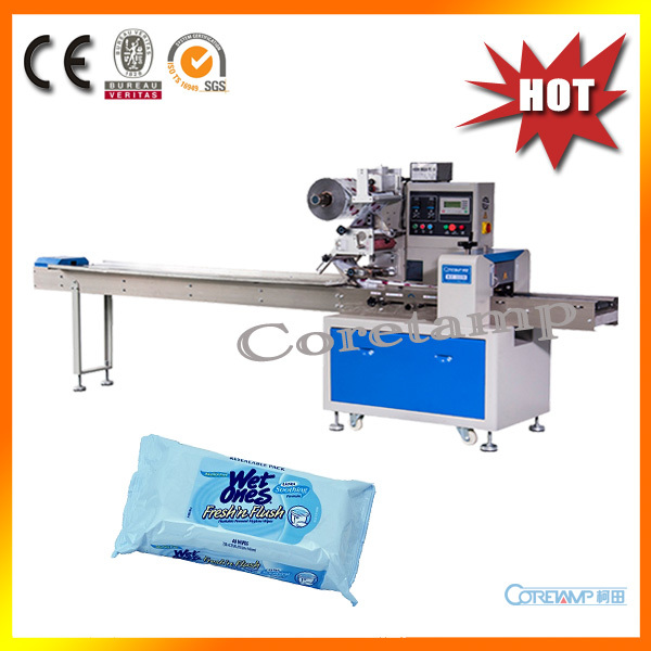Automatic soap pillow packing machine KT-250 - Flow-Pack-Machine And Vffs Packaging Machine store