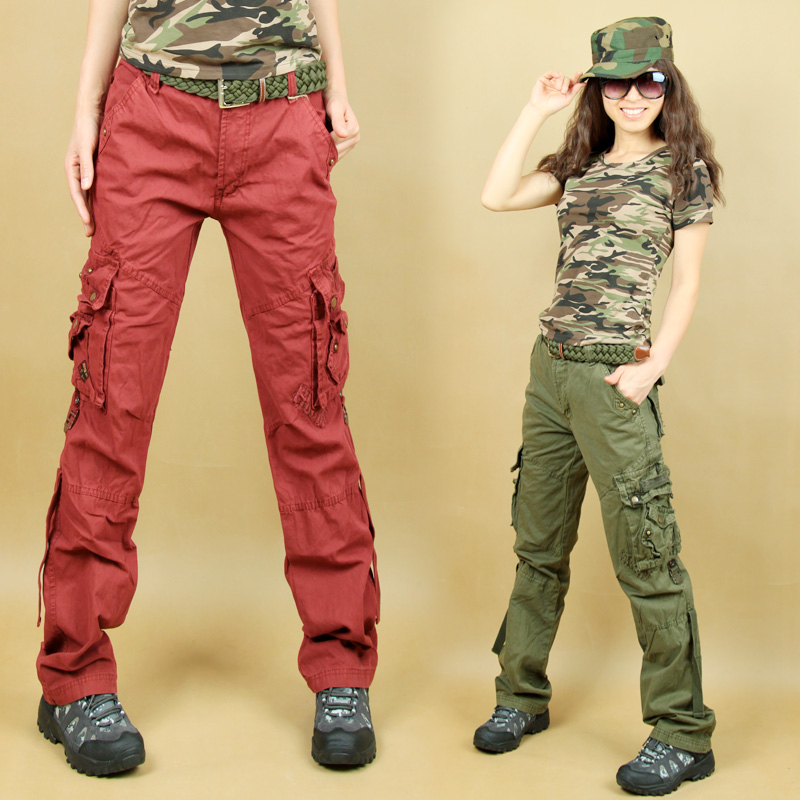 Elegant Greenredblackpurpletan Cotton Korea Style NWT Men39s Cargo Pants