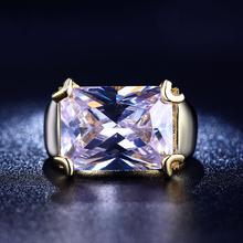 Большой камень щепка роскошные кольца для женщин большой кубического циркония даймонд ювелирные изделия Элегантные аксессуары подруга SHR205(China (Mainland))