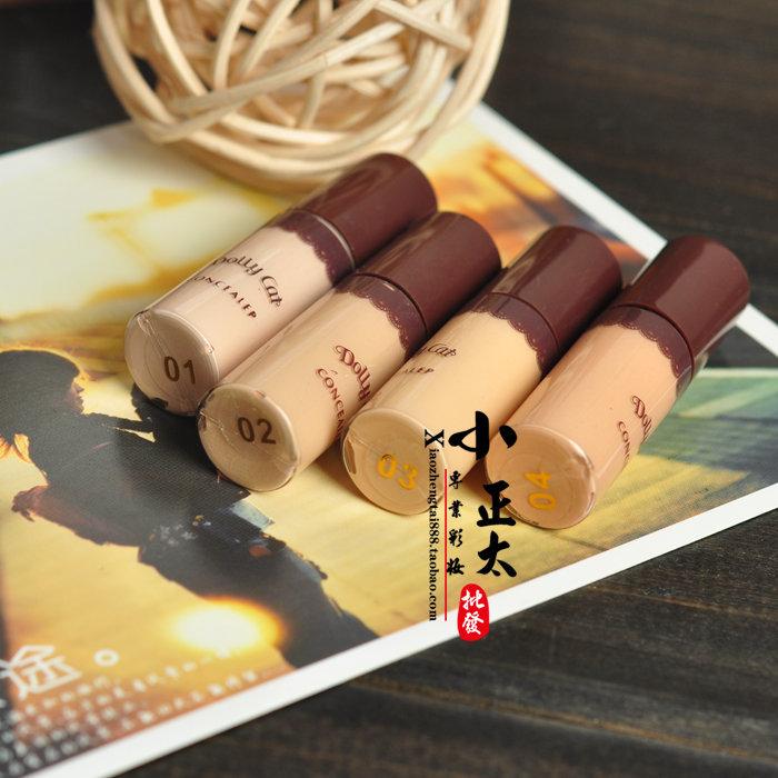 Japanese DOLLY CAT sample liquid concealer to cover dark circles concealer liquid foundation liquid lip primer(China (Mainland))