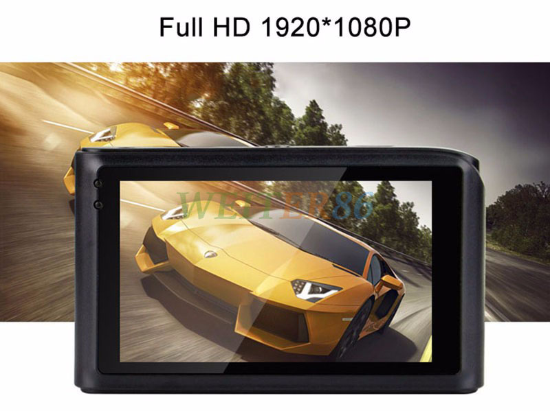"Car DVR Camera Novatek 96650 Dash Cam 1080P 3.0"" Video Recorder Registrator G-Sensor Night Vision Car Camcorder DVRs"