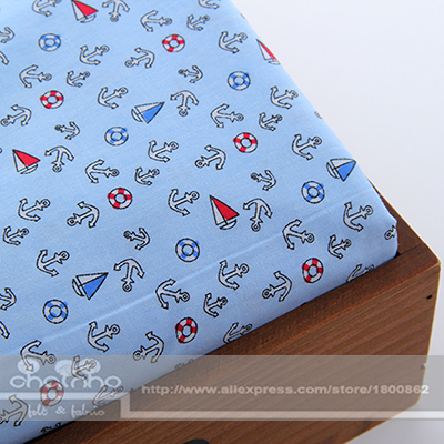 Cotton Fabric For Sewing DIY Handmade Hometextile Fabrics For Big Patchwork For Doll Dress Cushion Curtain