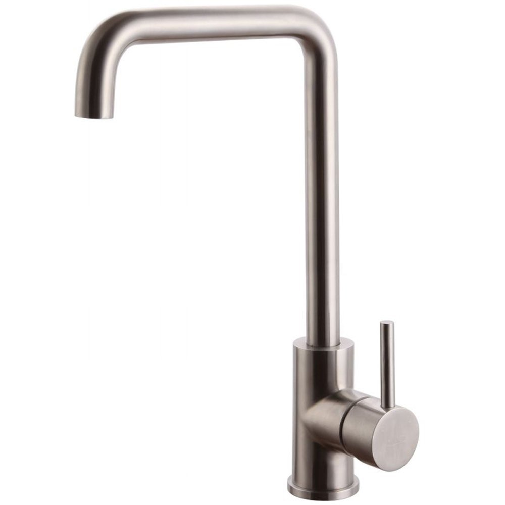 Solid Stainless Steel Kitchen bar sink Faucet Hot and