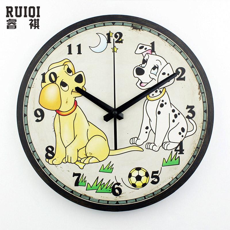Buy cartoon children room decoration wall for Kids room clock