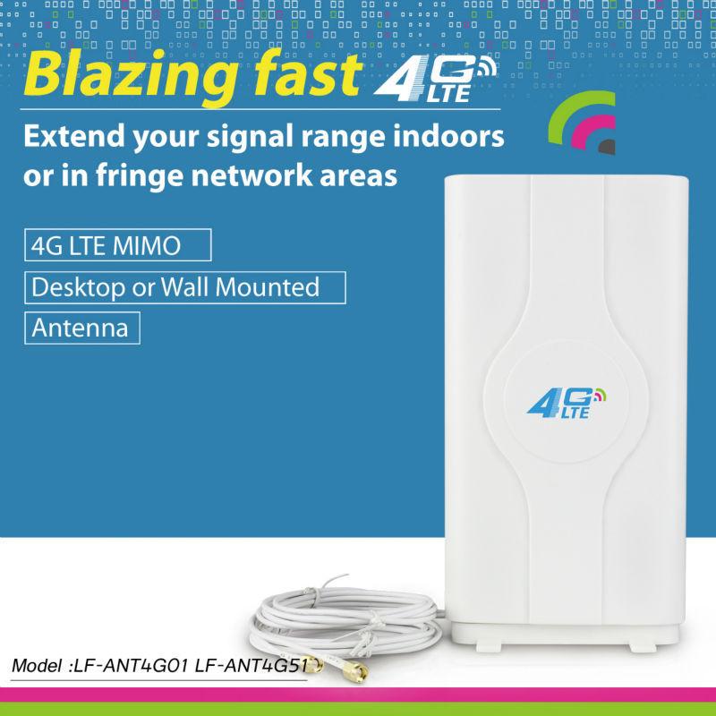 New 4G lte antenna 49dBi TS9 For HUAWEI E589 E392 ZTE MF61 MF62 aircard 753s 754s760s 4G LTE FDD/TDD ROUTER MODEM