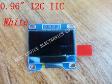 "Free shipping 1Pcs 128X64 OLED LCD LED Display Module white For Arduino 0.96"" I2C IIC SPI Serial new original(China (Mainland))"