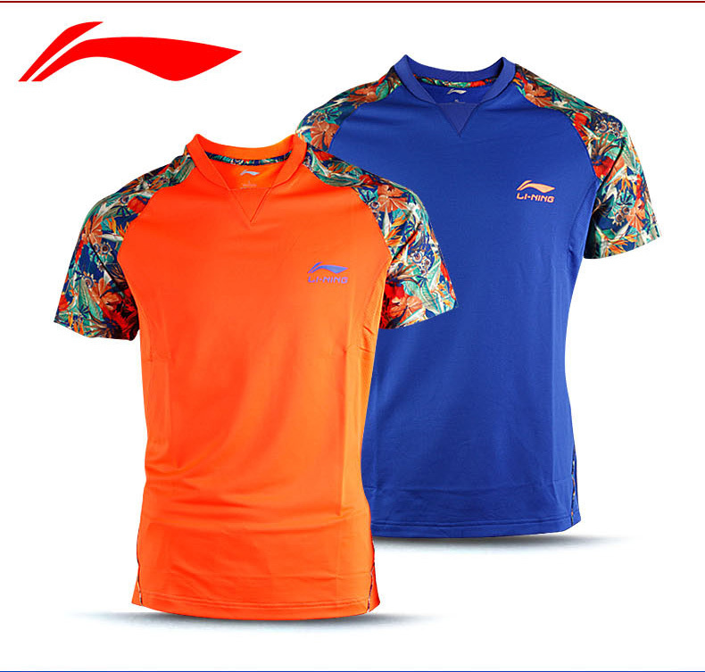 2015 New Men Table Tennis Race suit Quick Dry Authentic LINING Table Tennis Shirt AAYK341(China (Mainland))