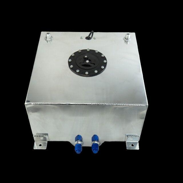VR RACING-40L Aluminium Fuel Surge tank with Cap  Fuel cell 40L with sensor foam inside VR-TK40