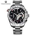 Top Luxury Brand PAGANI DESIGN Waterproof Quartz Watch Army Military Leather Watch Clock Sports Men s