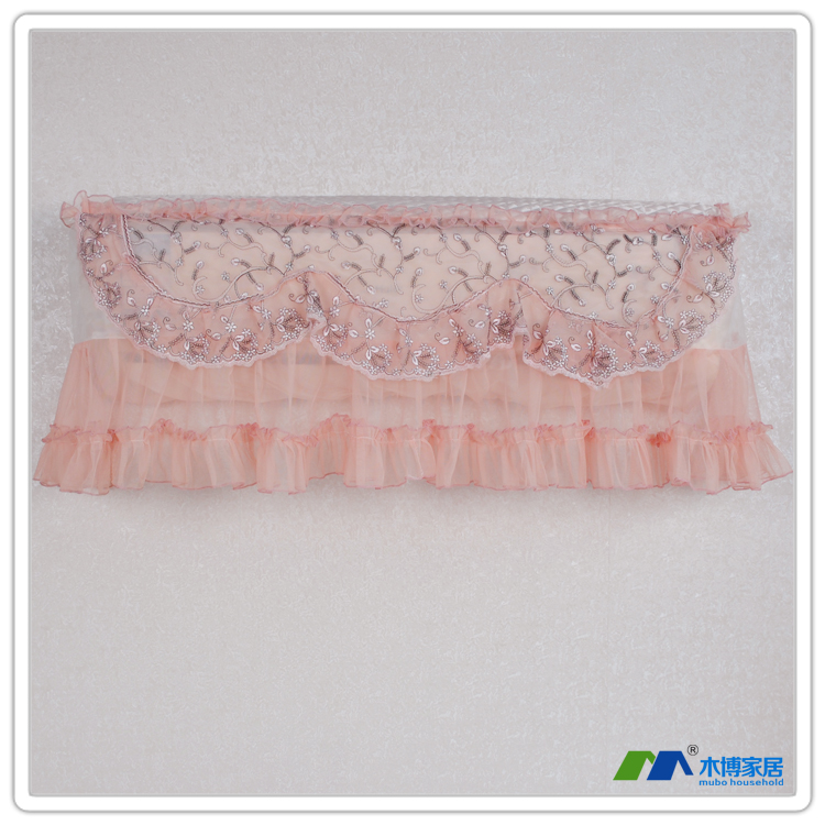Hanging air conditioning cover lace embroidered quality air conditioning units 1p 1.5p all-inclusive(China (Mainland))