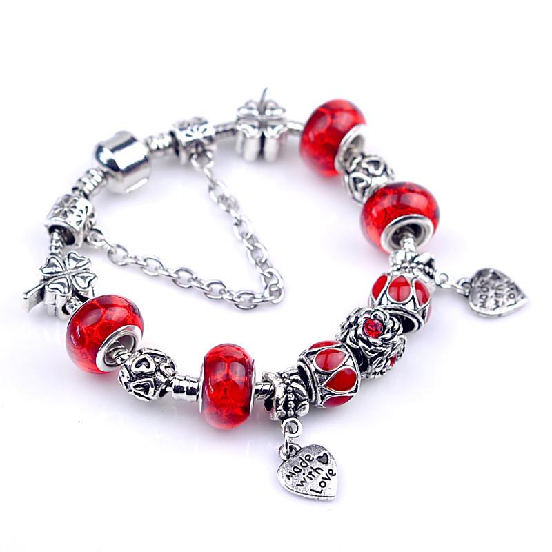 Red Pandora Bracelet Ideas - Bangle And Bracelets