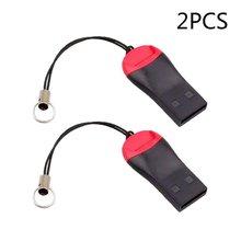 محولات قارئ بطاقات الذاكرة إلى USB 2.0 محول ل مايكرو SDHC SDXC TF متعددة وظيفة قارئ بطاقات(China)