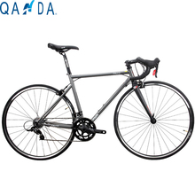 The New JAVA 18-Speed Chrome-Molybdenum Steel Road Bike  High Configuration  700C Road Bicycle +Carbon Fiber Fork 10.89kg(China (Mainland))