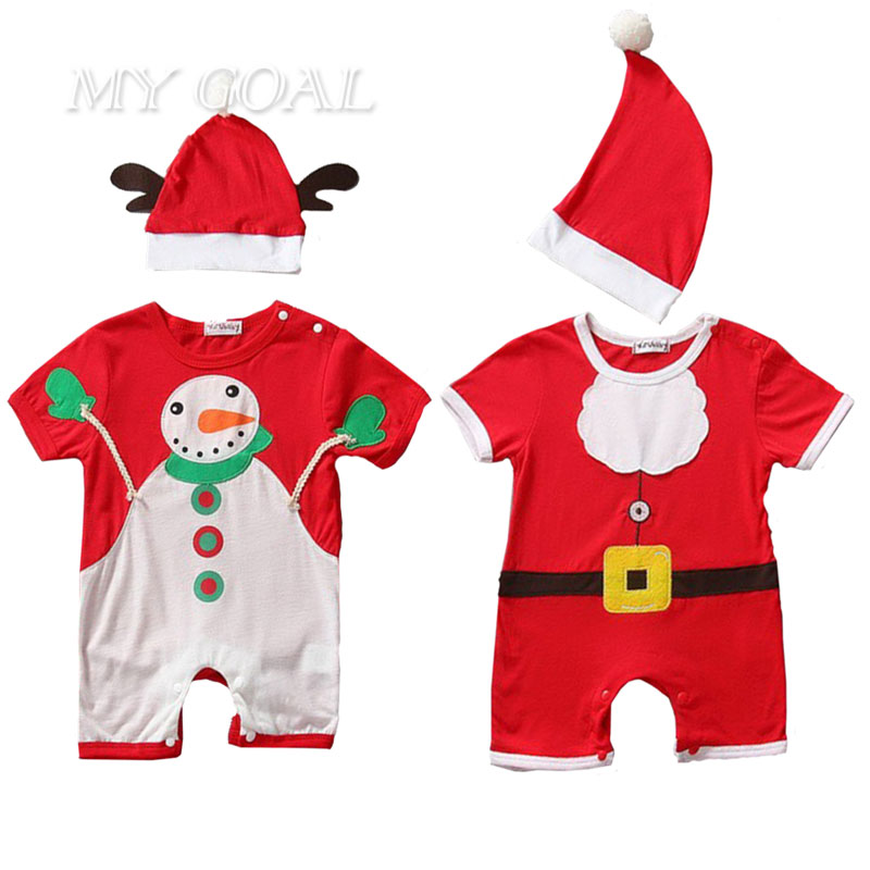Christmas gift hot baby rompers Santa Claus clothes children romper newborn boys girls rompers for kids(China (Mainland))