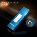Focus Briquet USB Men s Cigarette Arc Electric Metal Windproof Plasma Lighter DIY Briquet Mechero Isqueiro