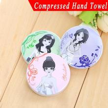 3pc Magic Compressed Travel Towel Disposable Tiny Cute Face WashclothsTablet Practical Eco friendly Hot sale Free-shipping(China (Mainland))