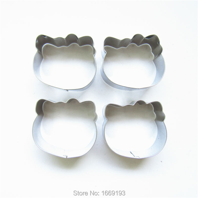 Cat face Wholesale,making cakes biscuits cookies in the kitchen, for adults and children the best gift Metal mold,Direct Selling(China (Mainland))
