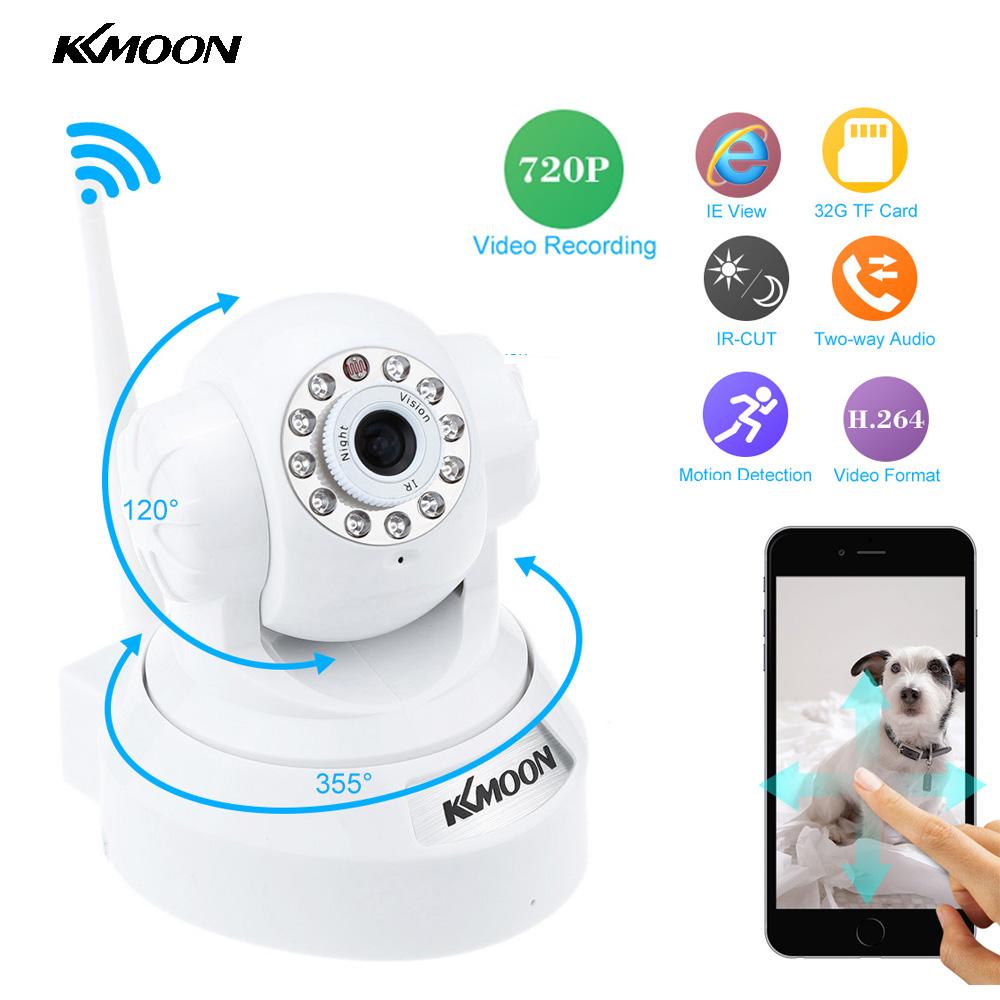KKMOON Wireless HD 720P IP Camera Wifi P2P IR CutNight Vision Security Camera WiFi Surveillance Camera Support 32G TF Card(China (Mainland))