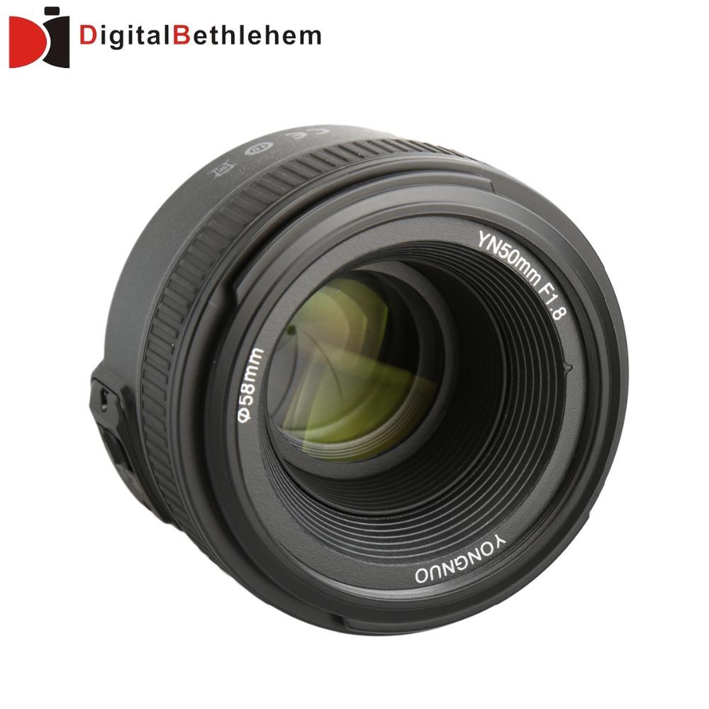 <font><b>Yongnuo</b></font> <font><b>50mm</b></font> F1.8 Lens for Nikon DSLR Camera <font><b>Yongnuo</b></font> Large Aperture Auto Focus Lens as Nikon AF-S <font><b>50mm</b></font> 1.8G